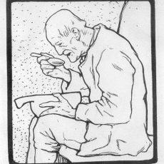 """Abbildung: KHM 78 """"Der alte Großvater und der Enkel""""; Otto Ubbelohde"""