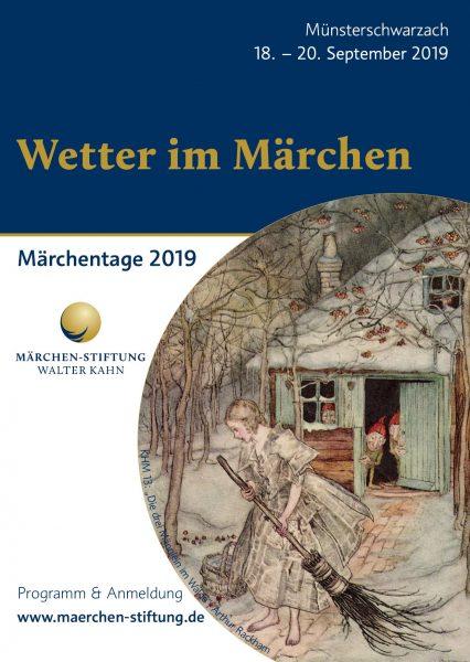 Märchentage 2019 der Märchen-Stiftung Walter Kahn @ Abtei Münsterschwarzach